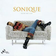 SONIQUE : HEAR MY CRY / CD - TOP-ZUSTAND