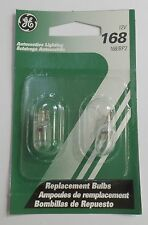 GE 168/BP2 Automotive 12 Volt White Replacement Bulb New - Unused 6 package of 2