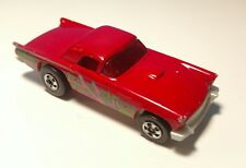Vintage HOT WHEELS 57 T-bird Red Ford Thunderbird