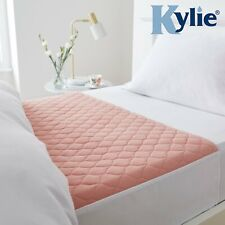 "Kylie-2, Bed Pad Washable Absorbent Incontinence Sheet ,74x91cms,29"" x 36"",Pink"