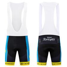 Mens Cycling Road Race Bib Shorts Pad Biking Brace Bottoms Clothing Tights 2021