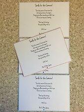 10 Matrimonio Fotocamera POESIE carte-QUALSIASI COLORE-Personalizzato-A6