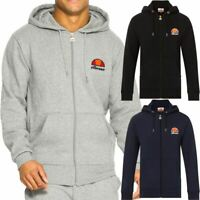 Ellesse Miletto Hoodie Cotton Zip Up Hoody