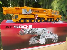 "CONRAD 1/50 TEREX DEMAG AC 500/2 SSL  "" PRANGL ""  MINT IN BOX"