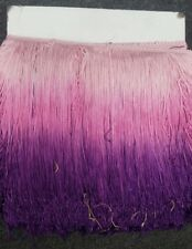 ombre chainette fringe 10 inches ,sold by yard
