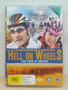 Hell On Wheels DVD Tour De France - CYCLING - ENGLISH SUBTITLES Rare