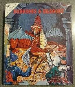 DUNGEONS & DRAGONS BASIC SET W/INTRODUCTORY MODULE AND DICE TSR 1001 HOLMES