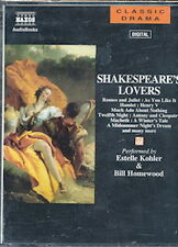 Audio book - Shakespeare's Lovers by William Shakespeare   -   Cass