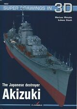 Kagero Super Drawings in 3D 22: The Japanese Destroyer Akizuki