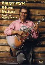 Woody Mann Fingerstyle Blues Guitar Learn to Play Country Music DVD