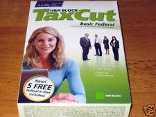 2008 TaxCut Federal STD turbo NEW Tax Cut H&R New sealed Box