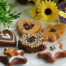 3 Types Artificial Cookies Dessert for Decoration Lifelike Artificial Food