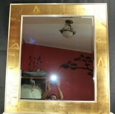 Mid Century Asian Wall Mirror Hart Plate Glass Co. Large