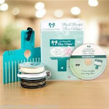 Embellishment Attic BIG (LARGE) BOW MAKER + DVD & RIBBON From Tattered Lace