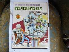 MAXIMUS N° 10 LES FANTASTIQUES LUG  LIRE LA DESCRIPTION