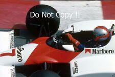 John Watson McLaren MP4/1C Monaco Grand Prix 1983 Photograph 1
