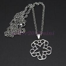 "BVB Necklace Stainless Steel BLACK VEIL BRIDES Pendant  Symbol 24"" Chain"
