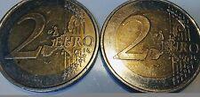 2 Euro Germany Deutschland F 2002 Stuttgart Error Rare First Map