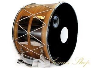 Orientalische Profi 53 cm. DAVUL Dhol Schlagzeug NUßBAUM 100% Handmade  (27-30)