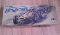 ***RARE*** 1960s SAN Marusan Slot - O - Racing 1/24 Set Hurricane w/ Slot Cars