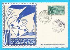 8661) XVIII° Manifestazione Filatelica Viareggio 1949