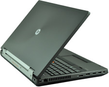 HP 8570w Elitebook Workstation Core i7 3.6Ghz 128GB SSD +500GB 1920x1080 Quadro
