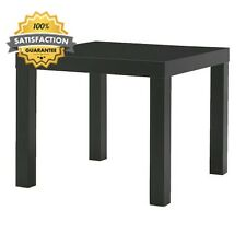 Lack Small Side/ Coffee Table Black 55x45x55