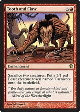 MTG Magic - (R) Commander 2013 - Tooth and Claw - SP