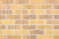 Strangpress Klinker-Riemchen NF-Format gelb grau bunt Riemchen Verblender