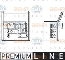 Hella AC Blower Motor Resistor 9ML 351 332-131 fits BMW 3 Series 1982-93 (E30...