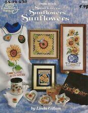 Sunflowers Cross Stitch Booklet - Linda Gillum