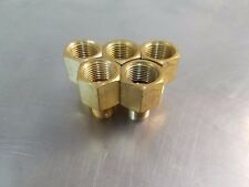 (5pc.) Pipe Adapter Brass 3/8