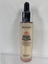 Revlon Rose Glow Hydrating & Illuminating Primer 001 Rose Quartz 1.0 FL Oz
