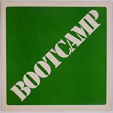 BOOTCAMP: Self Titled PRIVATE '85 Vinyl HARD ROCK VG++