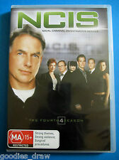 NCIS Naval Criminal Investigative Service DVD - The  Fourth Season - Region 4