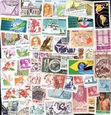 BRESIL - BRAZIL collections de 50 à 1000 timbres différents
