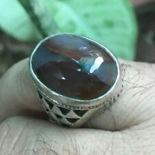 100% Natural YEMENI BROWN AQEEQ Kabadi LIVER Agate Silver SUFI Men Ring Any Size