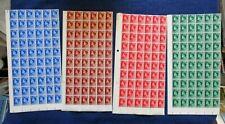 Lot Mint Mnh Great Britain 1936 Edward Viii 1/2d 1d 1 1/2d 2 1/2d Stamp Blocks