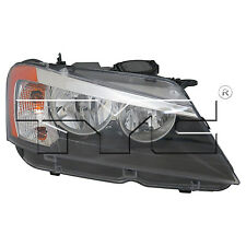 TYC Right Side Halogen Headlight Assembly For BMW X3 2011-2014 Models