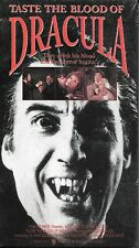 TASTE THE BLOOD OF DRACULA (VHS) Christopher Lee Horror NEW & SEALED!