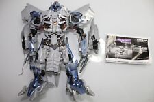 Hasbro 2007 Transformers Movie Leader Class MEGATRON - LOOSE