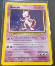 Mewtwo FRENCH/FRANCAISE Holo Rare- Base Set- Pokemon Cards - (10/102)