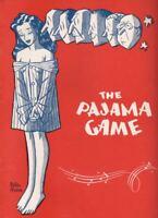 "John Raitt & Helen Gallagher  ""The Pajama Game""  Souvenir Program  1955"