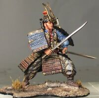 Painted Tin Toy Soldier Samurai #6 54mm 1/32