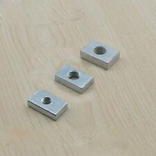 M6 M8 Square Clamp Nut Slider Nuts Carbon Steel Fastener / Aluminum Profile