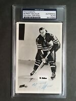 Murray Balfour Signed Photo Authentic PSA/DNA Chicago Blackhawks