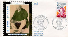 FRANCE FDC - 842 1745 2 ERNEST RENAN 28 4 1973 - LUXE