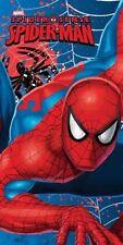 New Spider-man Spiderman Kids Children Swim Towel Beach Towel 100% Cotton