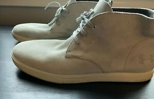 UNDER ARMOUR Mens  Size US 12 Comfort Gray Suede Chukka Boots