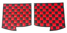 Premium Peterbilt 379 Quilted Checkered Fender Guards- Any Color Combination!